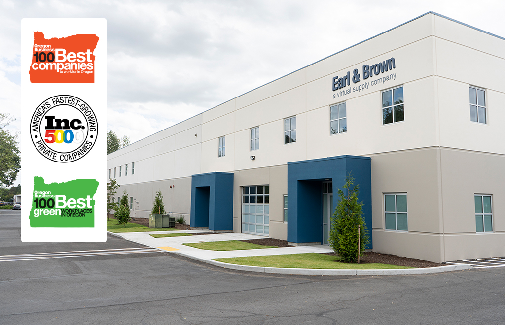 Earl and Brown - Award Winning Distribution Partner of Consumer, Business Products, and 3PL